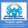 Анализ сайта и аудит с программой Netpeak Spider