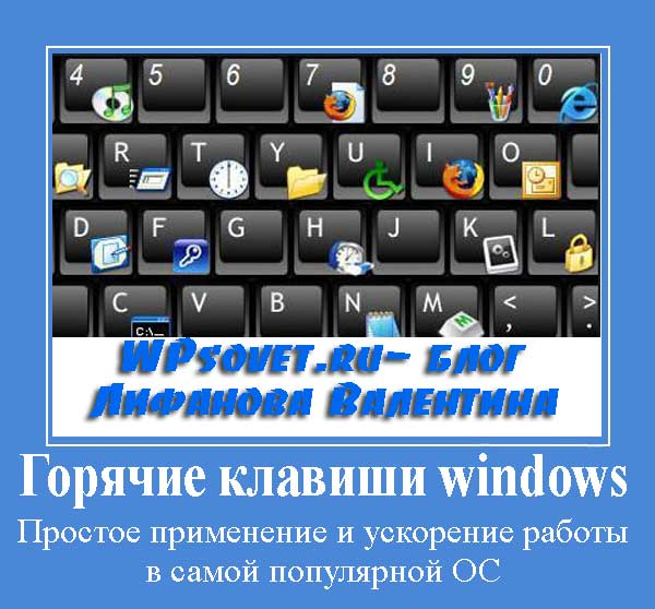 Комбинации клавиш на клавиатуре windows 7