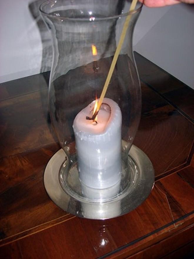 Используй спагетти, чтобы зажечь свечу и не обжечься