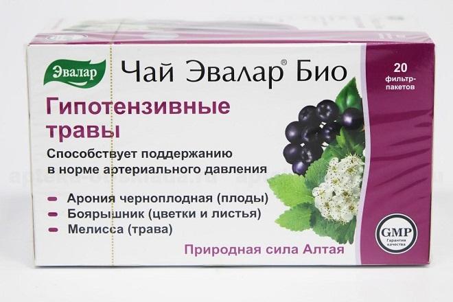 Гипотензивные чаи и напитки