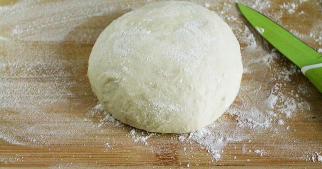 Тесто для лепешек на воде без дрожжей