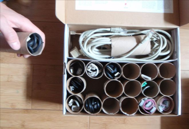 Как хранить провода, чтобы они не спутывались