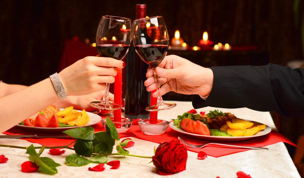 Основные составляющие романтического вечера