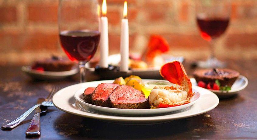 Идеи меню для романтического вечера