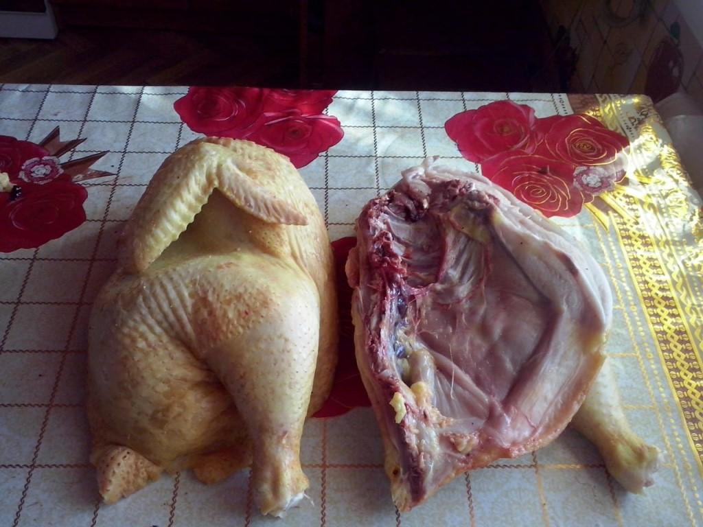 Разделываем курицу