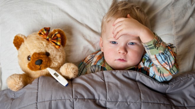Как бороться с ОРВИ у малышей