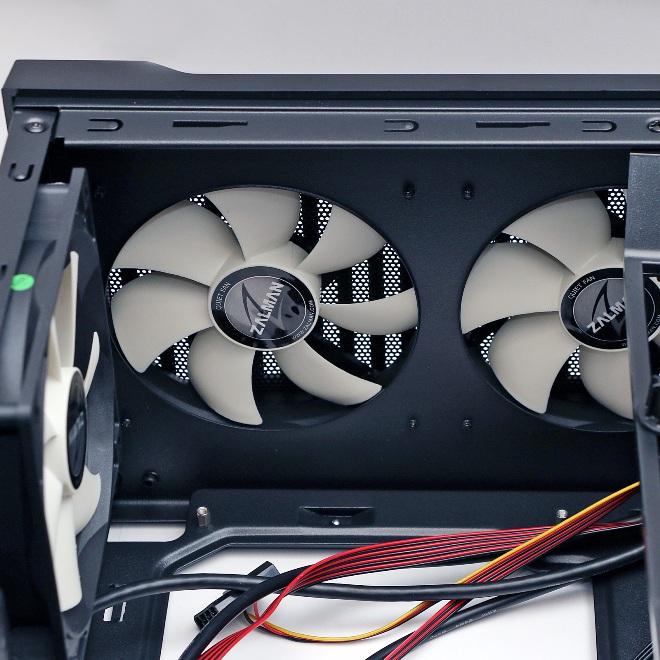 Корпус в комплекте с вентиляторами