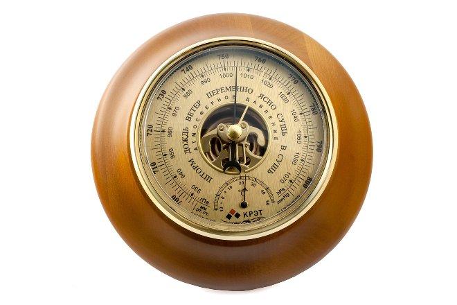 Измерение атмосферного давления