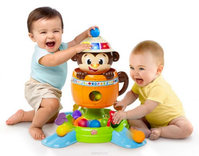 Выбираем развивающие игрушки для малыша