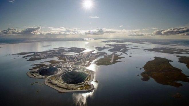 Алмазный завод в Якутии