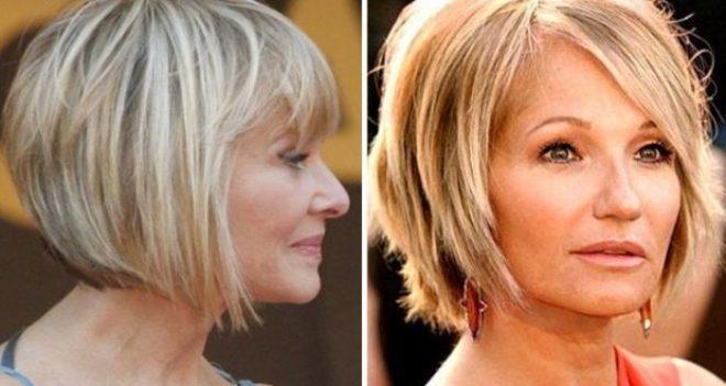 Как стричь волосы, чтобы выглядеть молодо после 40 лет