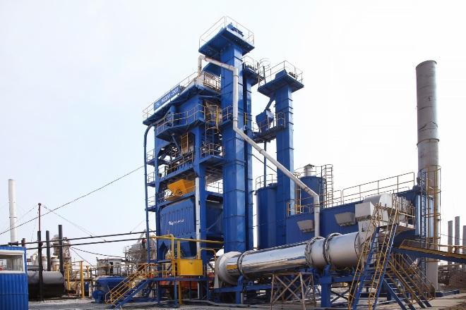 Новый асфальтобетонный завод