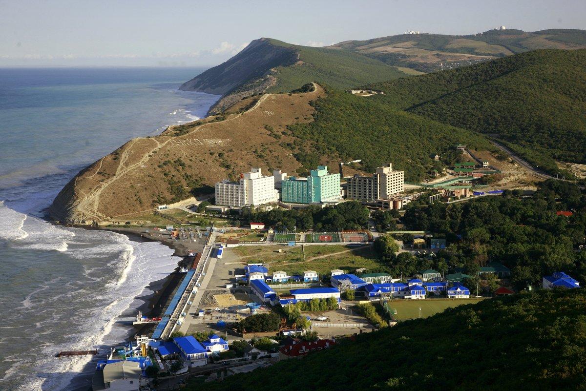 Пляж барселона в лазаревском фото