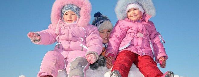 Выбираем зимнюю одежду для малыша