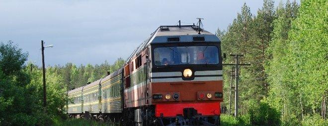 Путешествие поездом на сдачу экзаменов через море
