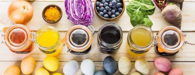 Красим яйца на пасху самостоятельно натуральными красителями