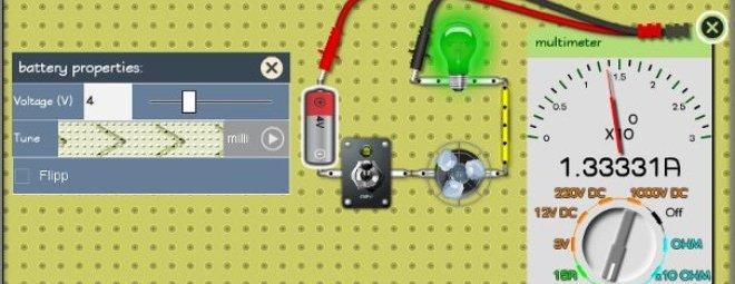 Симуляторы электроцепи