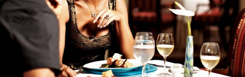 Романтический ужин для двоих в домашних условиях